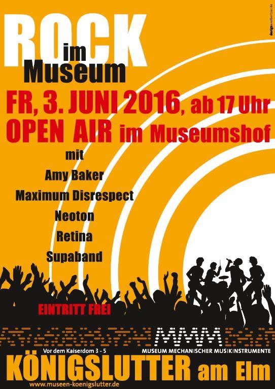 Rock im Museum 2016