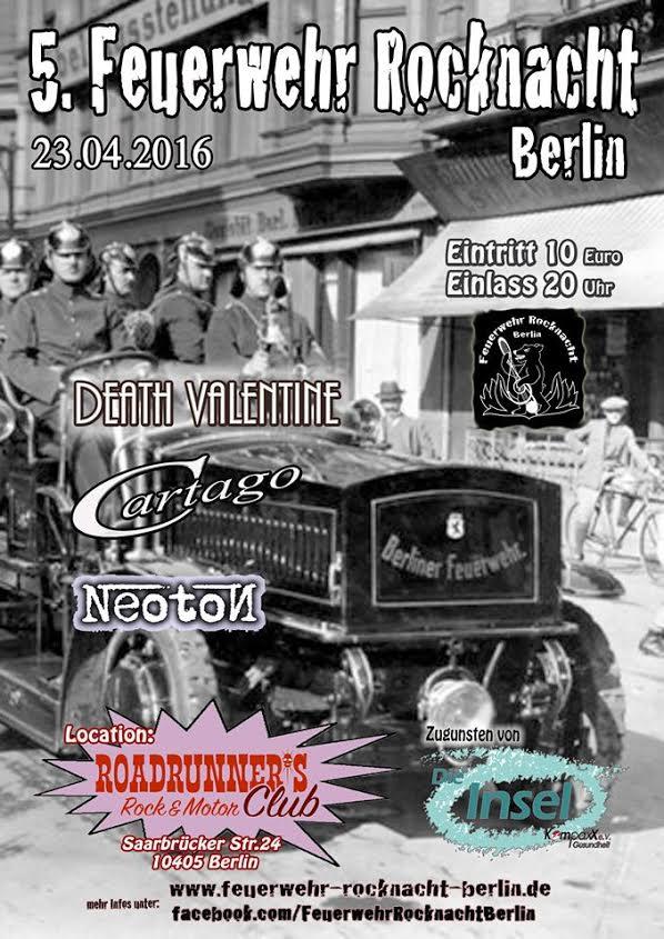 Feuerwehr Rocknacht Berlin