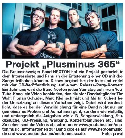 160113 Plusminus 365_Artikel WF Schaufenster