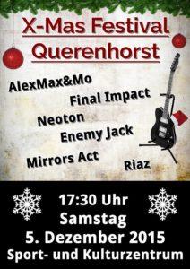 05.12.2015 / X-Mas-Festival Querenhorst