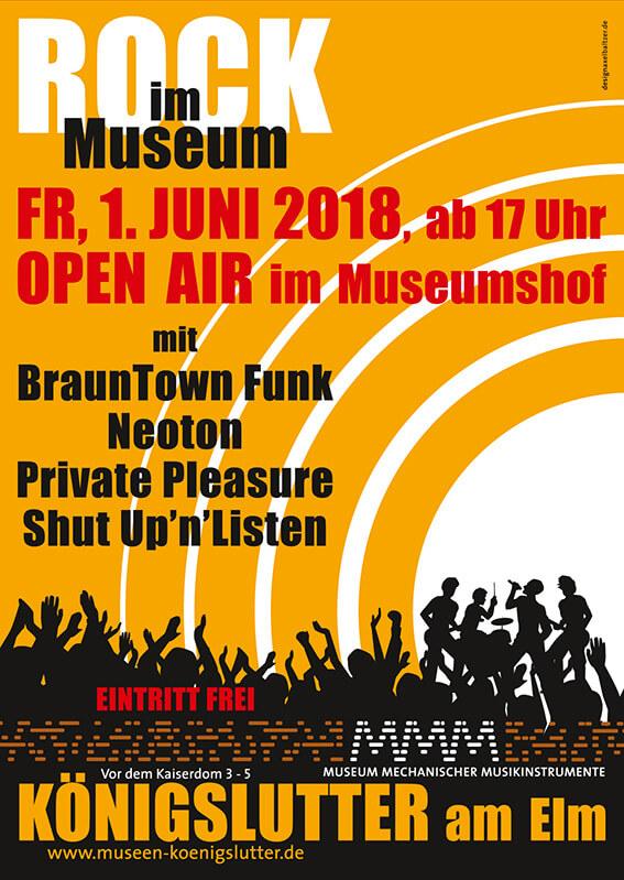Rock im Museum 2018