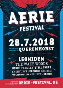 28.07.2018 / Aerie-Festival