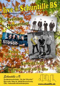 08.11.2019 / Herbstkonzert Live@Schuntille